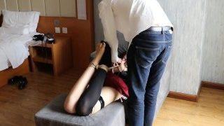 chinese college student uniform bondage