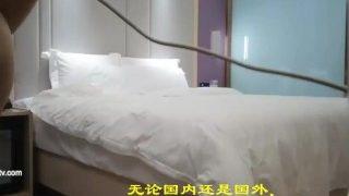 CHINESE MODEL高跟绝色美女与大屌富二代持久猛男酒店大战V2回合