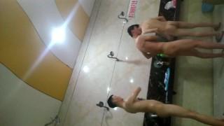 Chinese boys public bathroom spycam